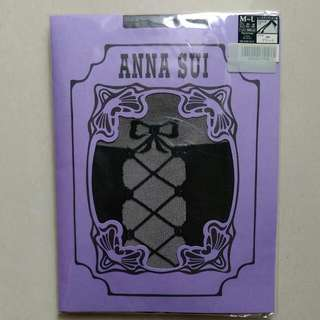 Anna sui 全新 蝴蝶結\大腿襪造型  超性感可愛 日本製 絲襪