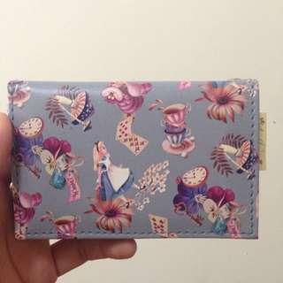 (保留中)日本 迪士尼 艾莉絲夢遊仙境 Alice 零錢包 卡夾