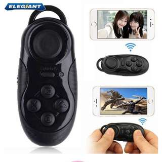 Bluetooth Joystick Gamepad Wireless Game Self Timer Controller Remote for Android iOS Smartphone