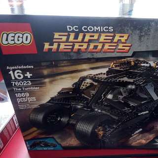 Lego The Tumbler 76023 credit card accepted