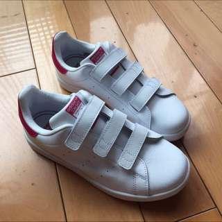 Adidas Stan smith 魔鬼氈粉色