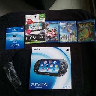 PS Vita 1st Gen Oled 3G/wifi BNIB