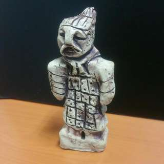 Ancient Chinese Army Sculpture