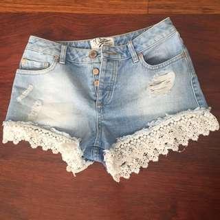 Hot Pants Miss Selfridge Size Eur 36 (xs)