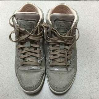 Lacoste高筒休閒鞋