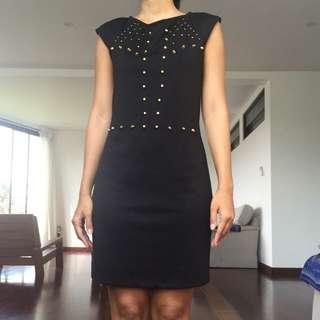 Studded Dress Morgan De Toi Paris Size S