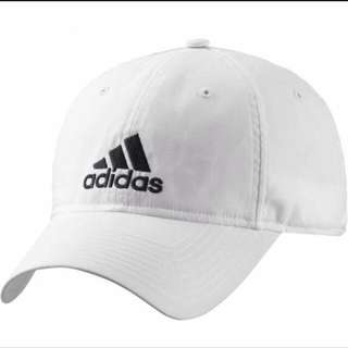 Adidas 鴨舌帽(白)
