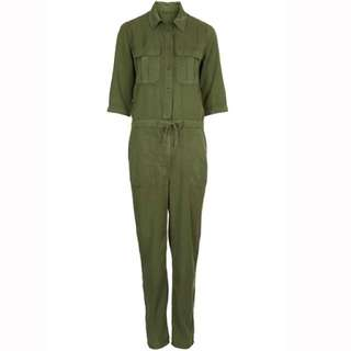 Topshop All In One Utility Jumpsuit