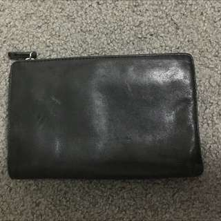 Leather- Black- Country Road Wallet
