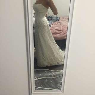 Karen Willis Holmes Wedding Dress RRP $3000+