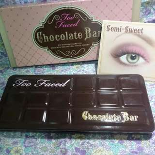 Too Faced Chocolate Bar 巧克力眼影第一代