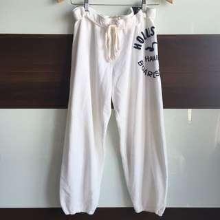 🚚 全新🆕含吊牌Hollister八分縮口棉質運動褲 Abercrombie & Fitch副牌