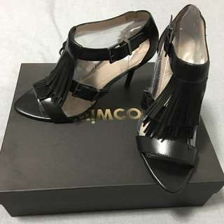 Mimco 'On The Fringe' Heels - Size 40 (8-9)