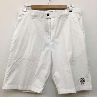 全新Mizuno美津濃 白色高爾夫運動休閒短褲(LL Size)