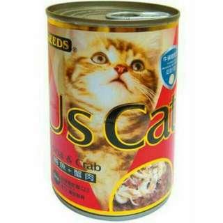 惜時 US CAT 愛貓超值大餐罐 400g / 1箱 $630元