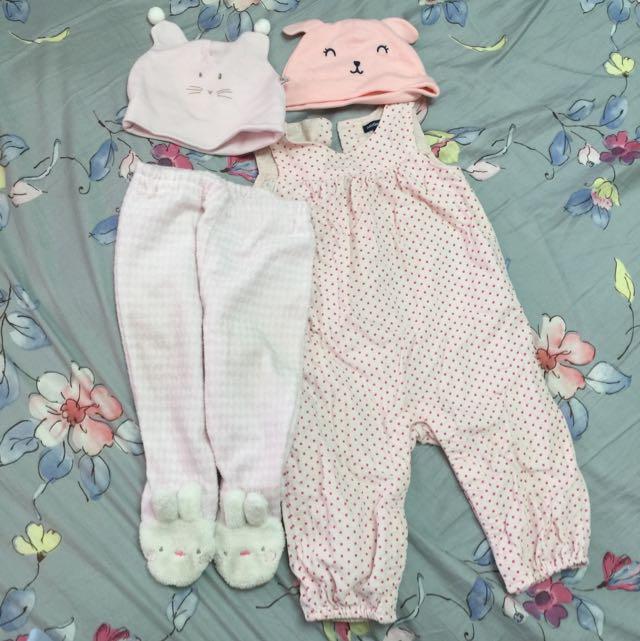 女童6-12個月二手冬天衣物