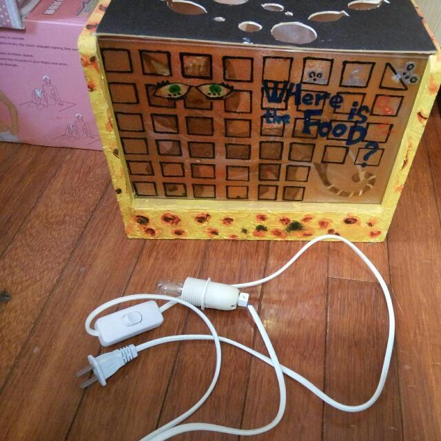 自製造型木臺燈