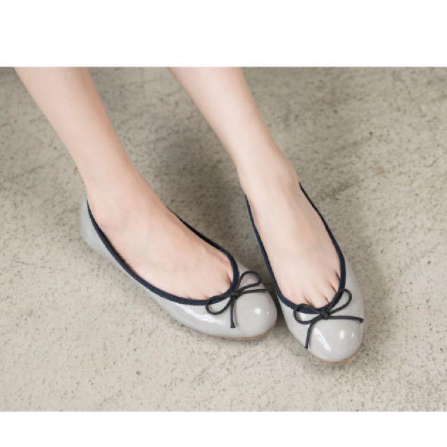 韓版娃娃鞋(天空藍)
