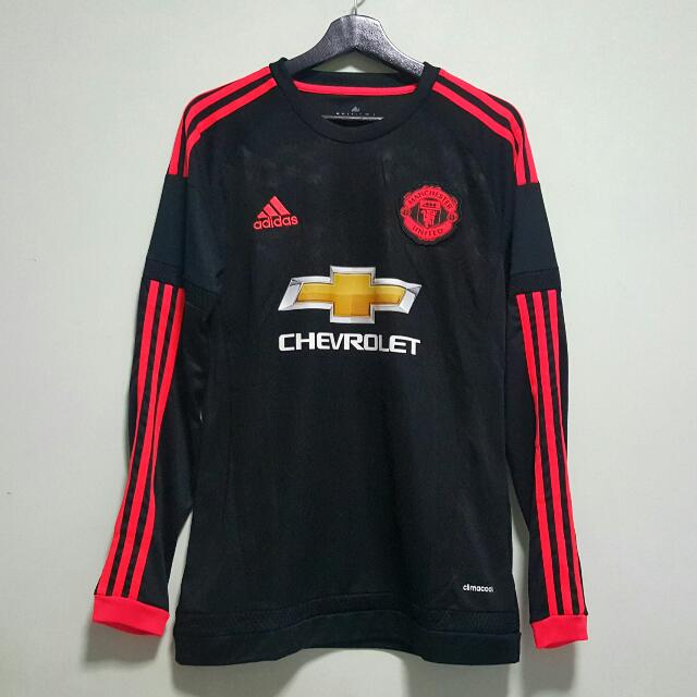 promo code ef54f e77ee Last Piece/BEST] Manchester United 15-16 Third Away Long ...