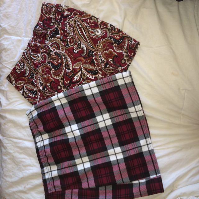 boohoo skirts