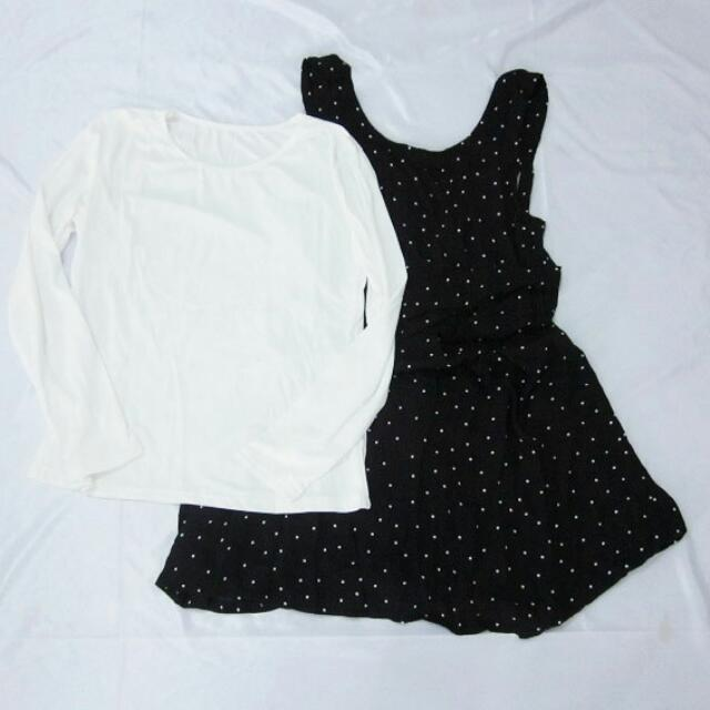 Dress Cotton #black
