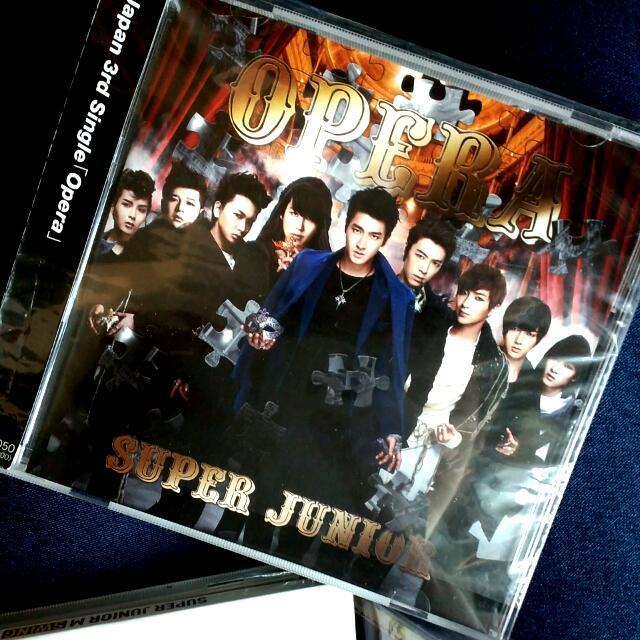 ELF JAPAN 限定 Super Junior OPERA (特典寫真附) 日版台壓盤  厲旭 利特  圭賢 東海 銀赫 神童 晟敏 始源  藝聲
