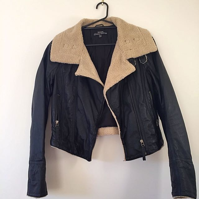 Genuine Leather Jacket - Just Jeans