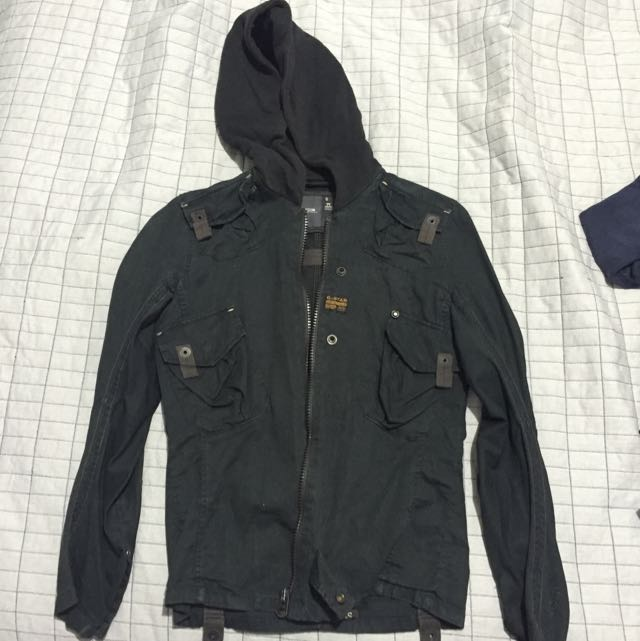 G-star Black, Navigator Hooded Jacket