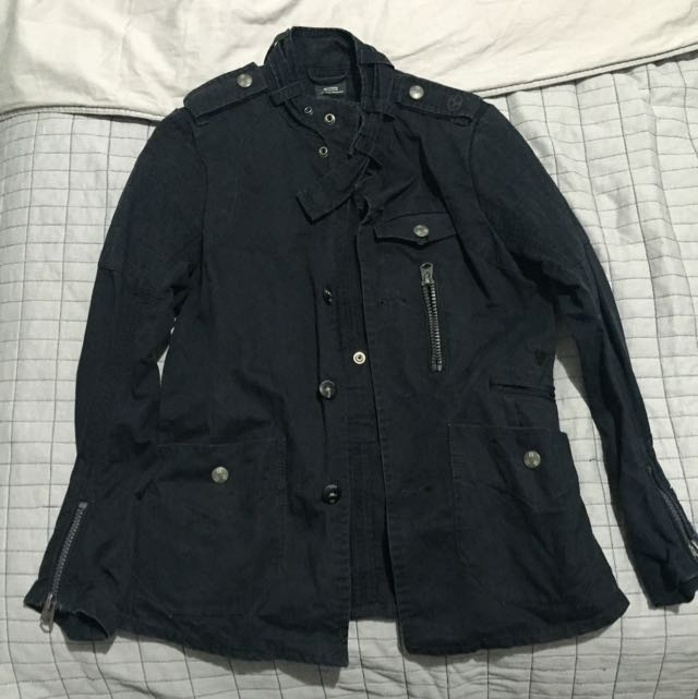 G-star Navy Tex Blazer