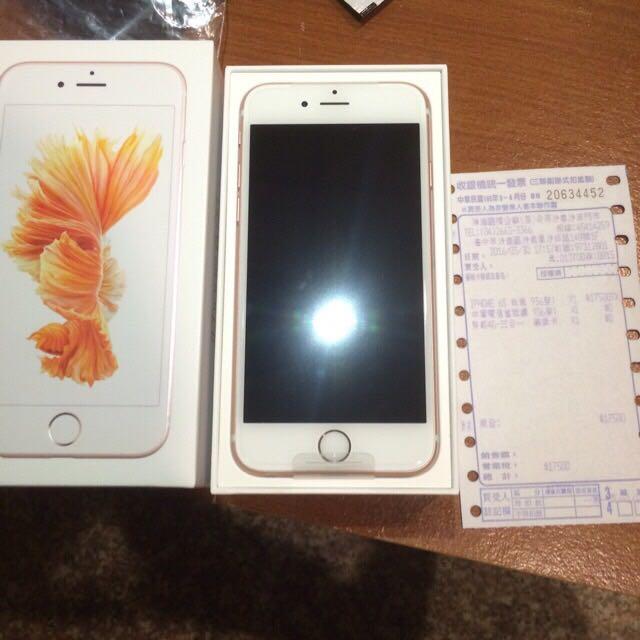 iPhone 6s 16g 4.7寸 玫瑰金 全新