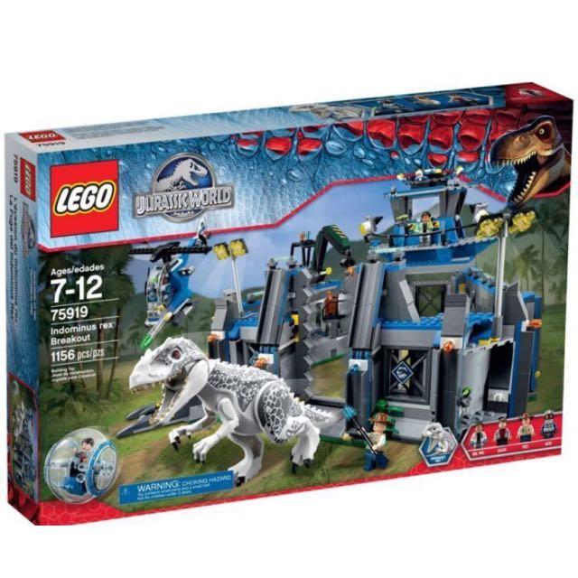 Lego 75919 侏羅紀公園 白暴龍