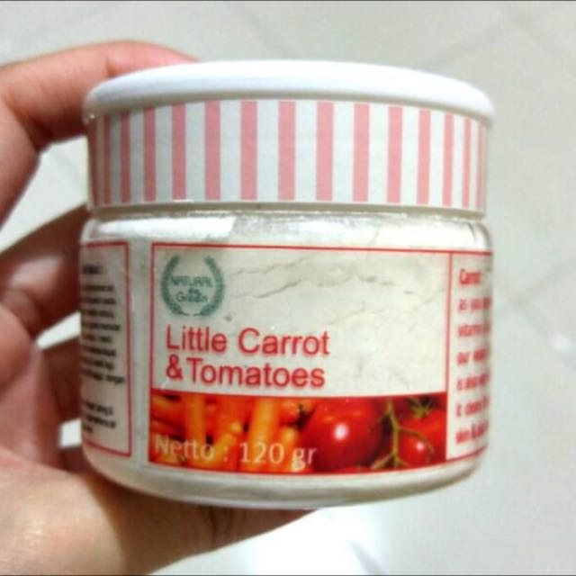 Little Carrot & Tomatoes