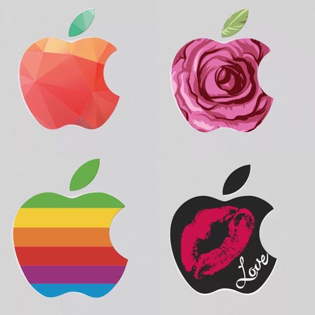 MacBook Apple Logo Decal Sticker Skin