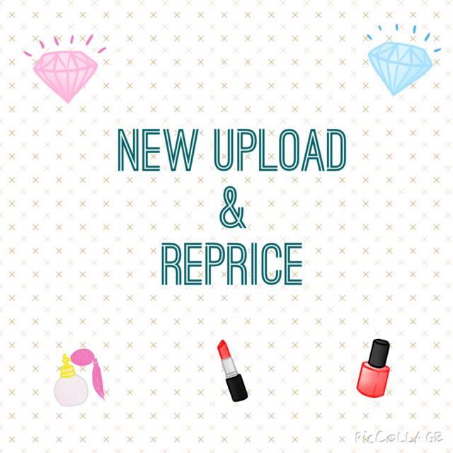 New Upload & Reprice