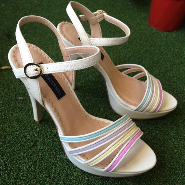 Pastel Size 9 High Heels