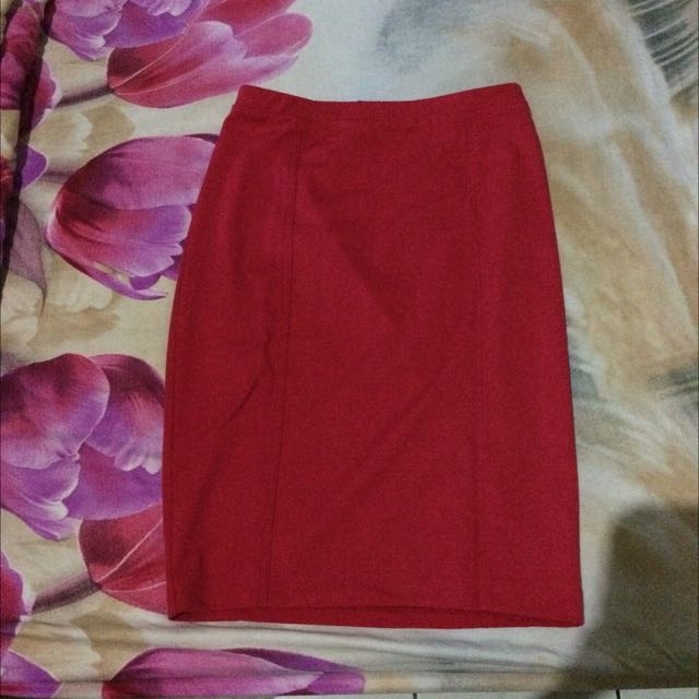 Preloved : Mossimo Pencil Skirt