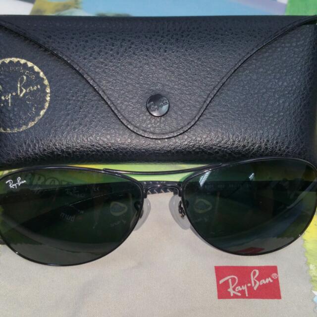 b716ce9367 Ray-Ban Tech RB8301 Carbon Fibre Sunglasses Shades Wayfarer Aviator ...