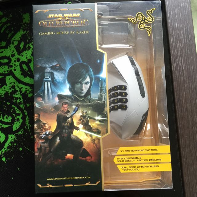 Razor Gaming Old Republic MMO Mouse