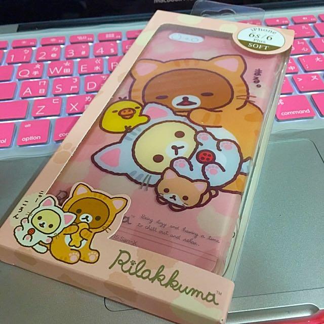 Rilakkuma拉拉熊iphoe6/6s Plus手機殼