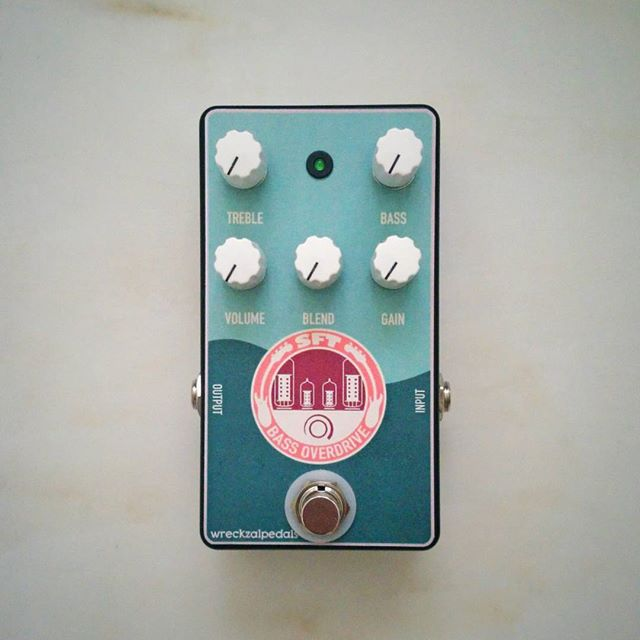 SFT based pedal. This is a Bass Overdrive with a Blend Knob