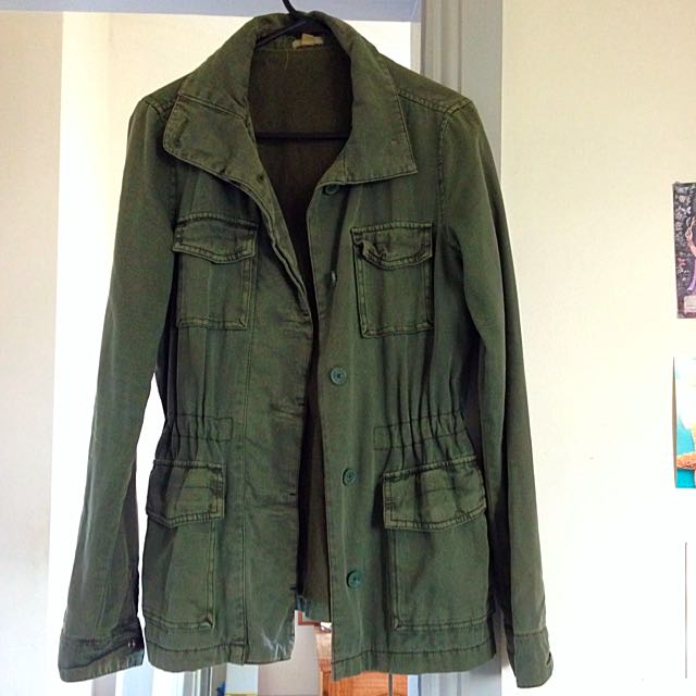 Vintage Army Style jacket