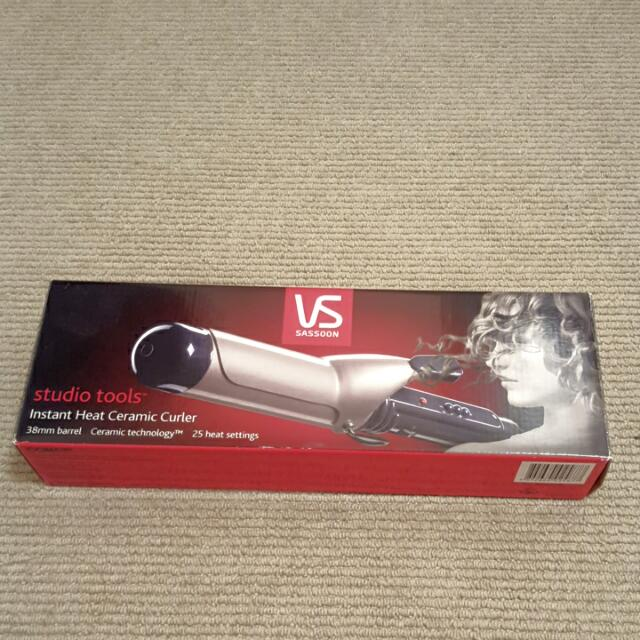 VS Sassoon Hair Curler Big 38mm Barrel
