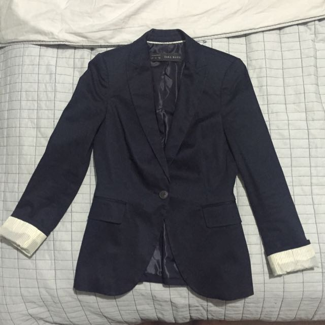 Zara Basic - Navy Blazer