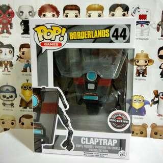 Funko Pop Claptrap Gamestop Exclusive Vinyl Figure Collectible Toy Gift Game Borderlands