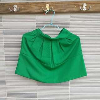 MIUSA 綠色俏短裙 (編號89)
