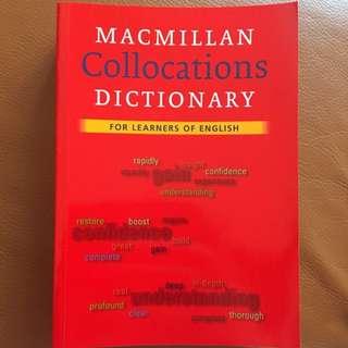 全新 📚Macmillan Collocations Dictionary Book📖 #英文 語言書