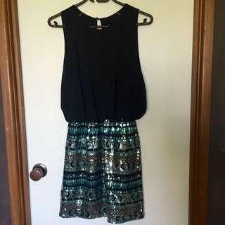 Size XS-S Sequin Dress