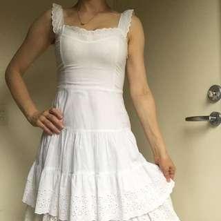 Passion White Summer Dress