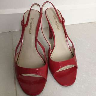 Enzo Angiolini Red Shoes