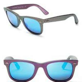 Original Rayban Wayfarer Cosmo (purple with blue lense) - FURTHER REDUCED!